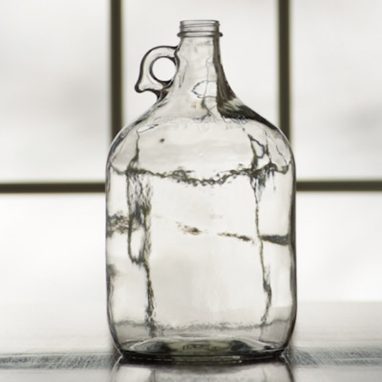 Picture of 1 Gallon Clear Glass Jugs, Case of 4