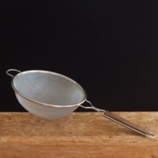 """Picture of Stainless Steel Double Mesh Strainer, 10 1/4"""" Diameter"""