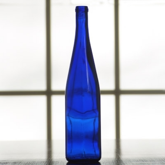 Picture of 750 ml Cobalt Blue Stretch Hock, case of 12