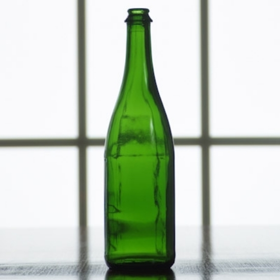 Picture of 750 ml Emerald Green Champagne, case of 12