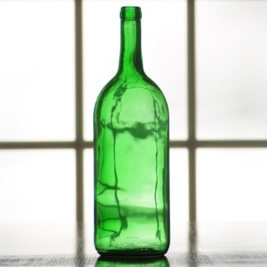 Picture of 1.5 Liter Antique Green Bordeaux Bottle, case of 6