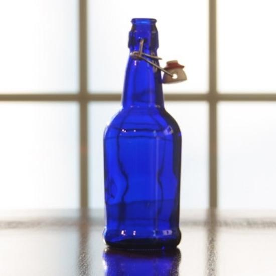Picture of EZ Cap 500ml Blue Flipper, Case of 12