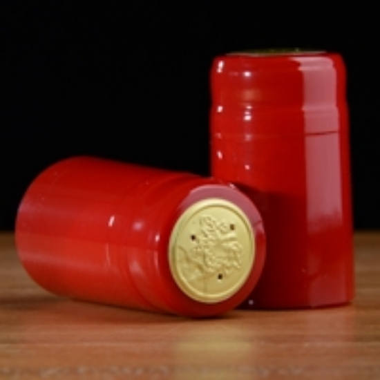 Picture of Holiday Red PVC Capsules 100 count