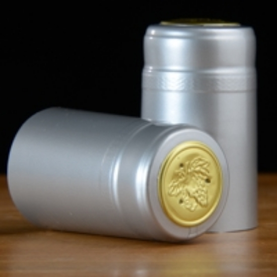 Picture of Silver PVC Capsules 100 count