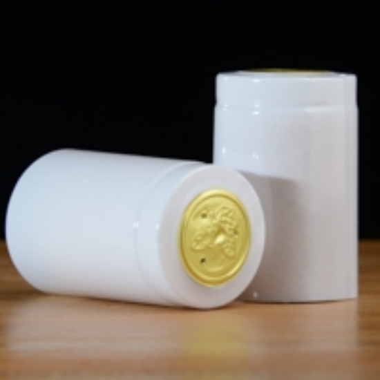 Picture of White PVC Capsules 100 count