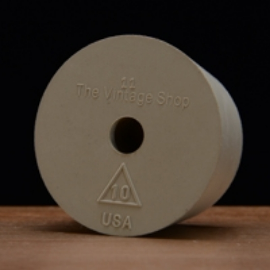 Picture of Drilled Rubber Stopper #10