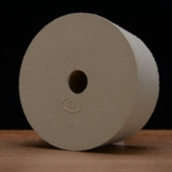 Picture of Drilled Rubber Stopper #11