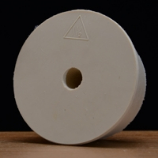 Picture of Drilled Rubber Stopper #11 ½