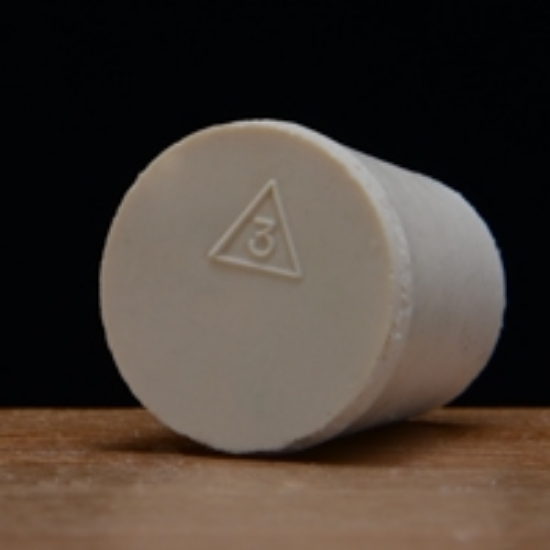 Picture of Solid Rubber Stopper #3