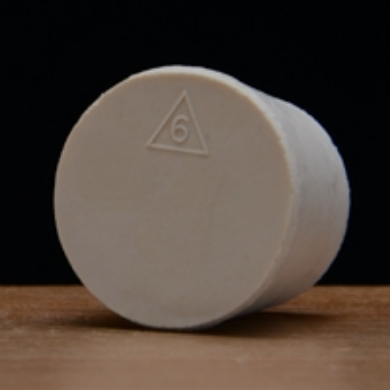Picture of Solid Rubber Stopper #6