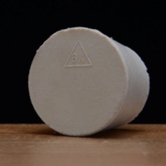 Picture of Solid Rubber Stopper #6 ½