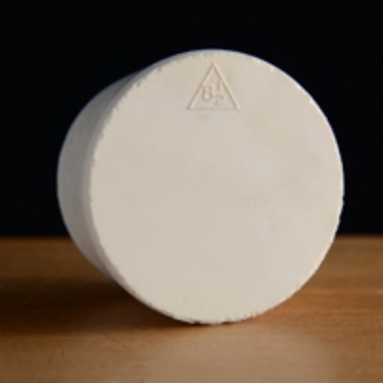 Picture of Solid Rubber Stopper #8 ½