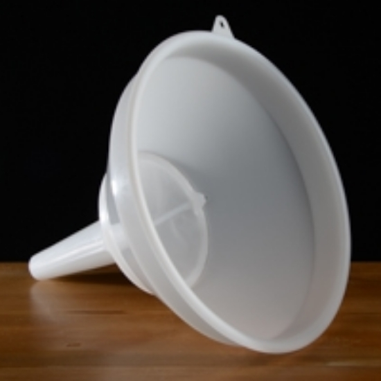 """Picture of 12"""" Plastic Funnel"""