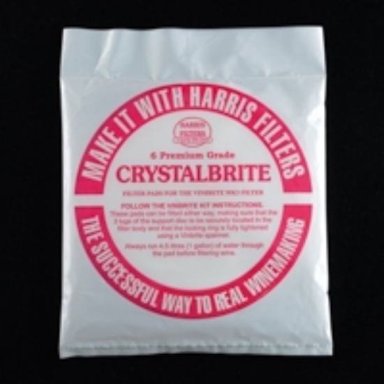 Picture of Crystalbrite Filter Pads 5 count