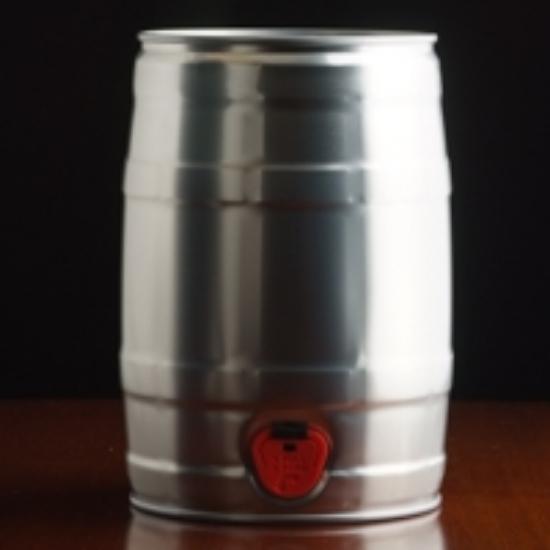 Picture of Party Star Keg (mini keg) w/tap, 5 L