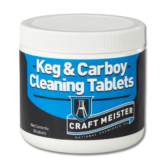 Picture of Craft Meister Keg & Carboy Cleaning Tabs 30 count - Case of 6