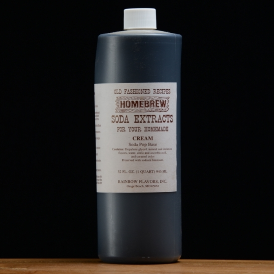 Picture of Cream Soda Extract 1 qt