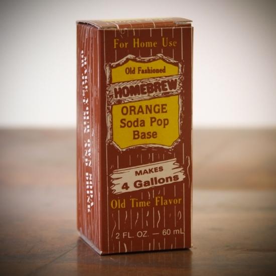 Picture of Orange Soda Extract 2 fl oz