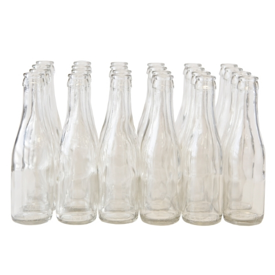 Picture of 187 ml Clear Champagne Bottle, case of 24
