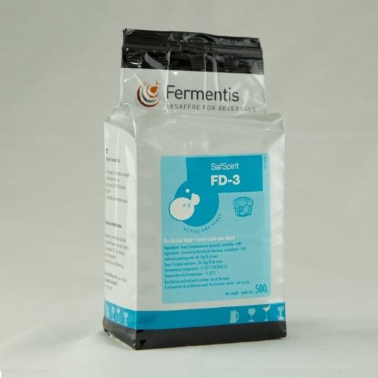 Picture of Fermentis SafSpirit™ FD-3 Yeast 500 g