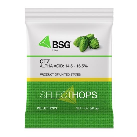Picture of CTZ (US) Hop Pellets 1 oz