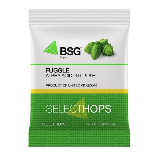 Picture of Fuggle (UK) Hop Pellets 8 oz