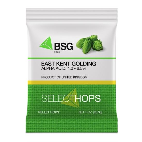 Picture of East Kent Golding (UK) Hop Pellets 1 oz