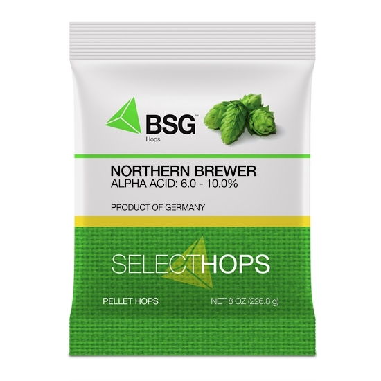 Picture of Northern Brewer (GR) Hop Pellets 8 oz