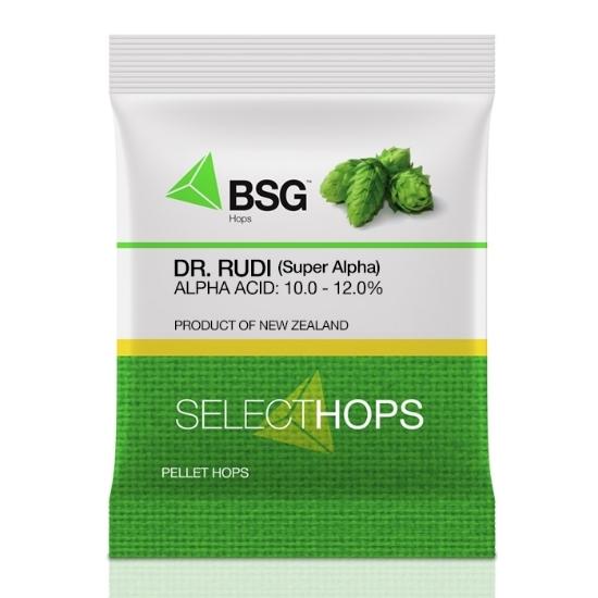 Picture of Dr. Rudi (Super Alpha) (NZ) Hop Pellets 8 oz