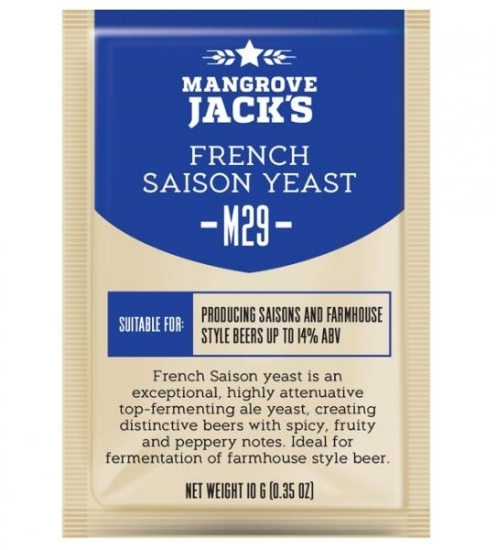 Picture of Mangrove Jack's Craft Series Yeast M29 French Saison 10g