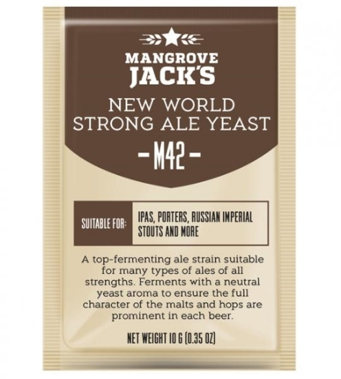 Picture of Mangrove Jack's Craft Series Yeast M42 New World Strong Ale 10g
