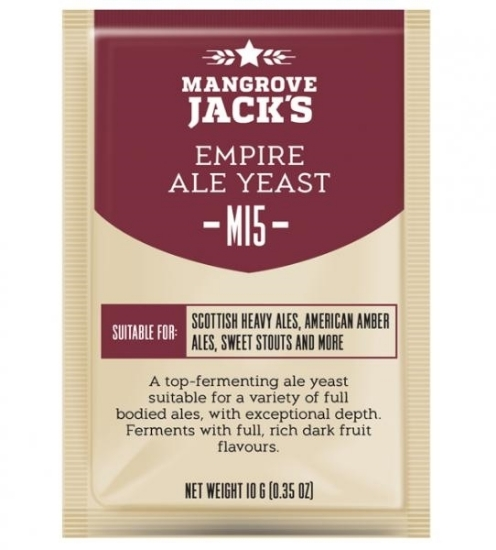 Picture of Mangrove Jack's Craft Series Yeast M15 Empire Ale 10g