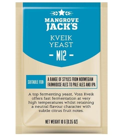 Picture of Mangrove Jack's Craft Series Yeast M12 Kveik Yeast 10g