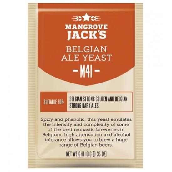 Picture of Mangrove Jack's CS Yeast M41 Belgian Ale (10g)