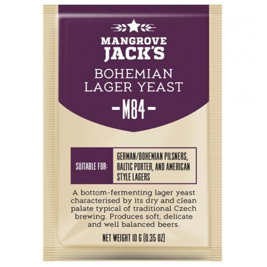 Picture of Mangrove Jack's CS Yeast M84 Bohemian Lager (10g)
