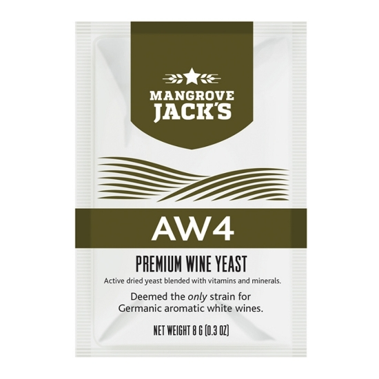 Picture of Mangrove Jack's Wine Yeast - AW4 8g