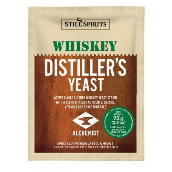 Picture of SS Distiller's Yeast Whiskey w AG 72g
