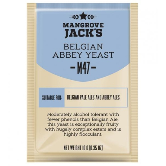 Picture of Mangrove Jack's CS Yeast M47 Belgian Abbey (10g)