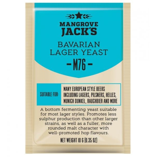 Picture of Mangrove Jack's CS Yeast M76 Bavarian Lager (10g)
