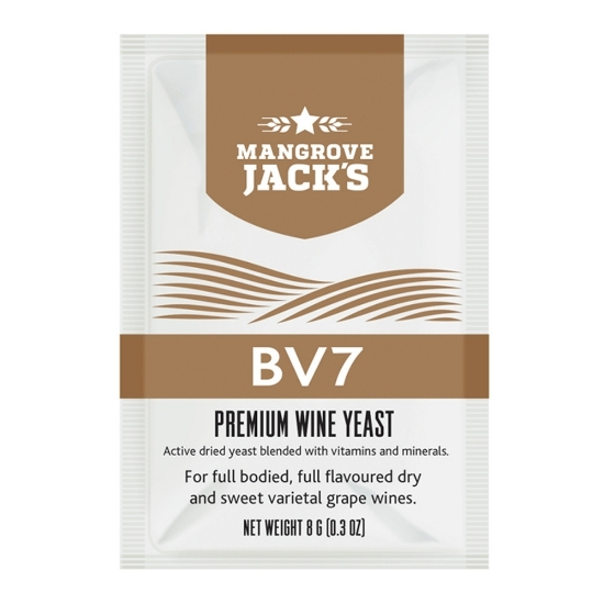 Picture of Mangrove Jack's Wine Yeast - BV7 8g