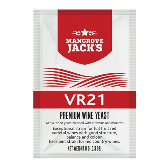 Picture of Mangroves Jack's Wine Yeast - VR21 8g