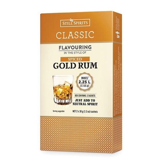 Picture of SS Classic Spiced Gold Rum