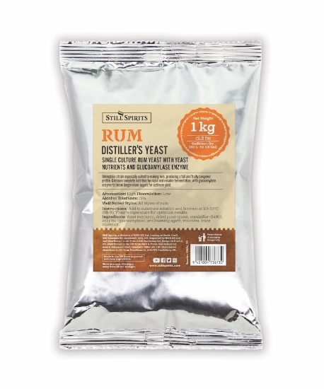 Picture of Still Spirits Distillery Yeast Rum Turbo with AG(PP) 1kg