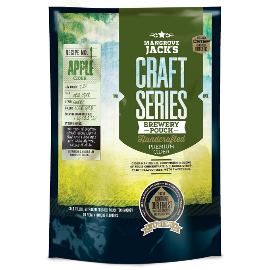 Picture of Mangrove Jack's Craft Series Apple Cider Pouch - 2.4kg