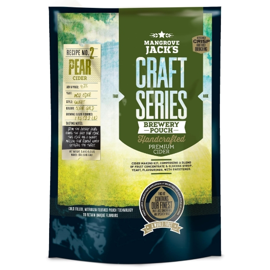 Picture of Mangrove Jack's Craft Series Pear Cider Pouch - 2.4kg