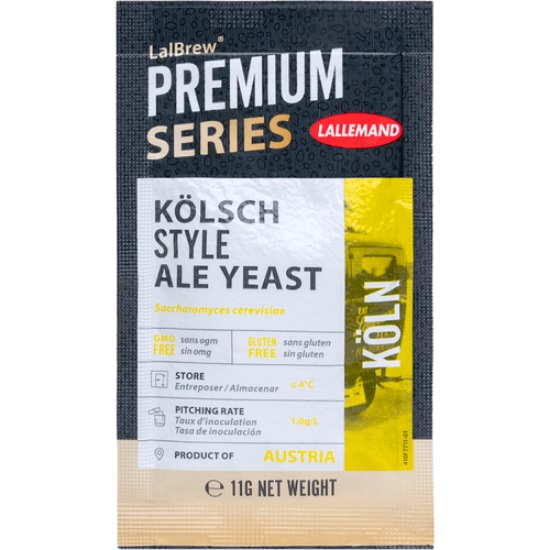 Picture of Lallemand LalBrew® Koln Kolsch-Style Ale Yeast 11g