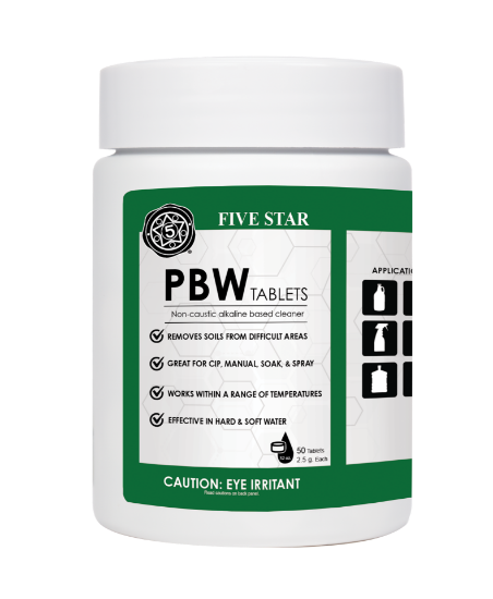 Picture of Five Star PBW Tablet 2.5g 50ct case of 12