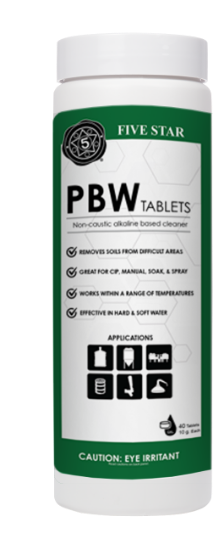 Picture of Five Star PBW Tablet 10g 40ct case of 12